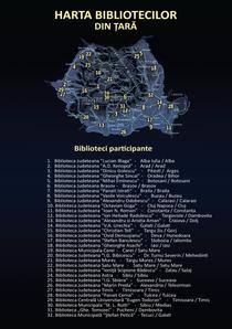 harta Noaptea Bibliotecilor (prin tara)