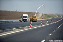 Lucrari la Autostrada Cernavoda-Constanta