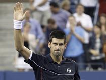Djokovic, fericit dupa victoria cu Davydenko