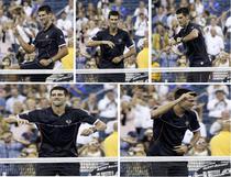 "Novak Djokovic - ""Dansul victoriei"""