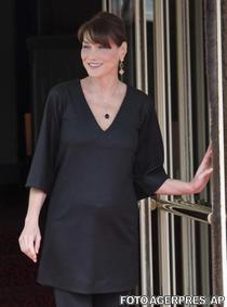 Carla Bruni Sarkozy insarcinata
