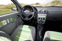 Interior Dacia eco2