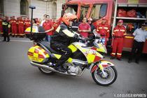 Motocicleta de salvare