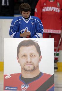 FOTOGALERIE Lacrimi la Minsk pentru jucatorii de la Lokomotiv Iaroslavl