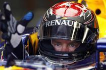 Sebastian Vettel, la Monza