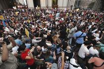 Protest in fata NYPD