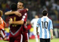 Venezuela, succes mare contra lui Messi si compania
