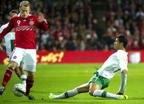 Cristiano Ronaldo (dreapta)