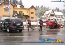 Accident rutier provocat de Serban Huidu