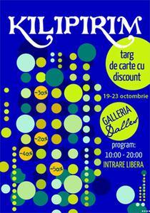 Kilipirim - targ de carte la Galeriile Dalles