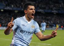Sergio Aguero, decisiv pentru City