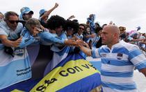 Felipe Contepomi multumeste fanilor argentinieni