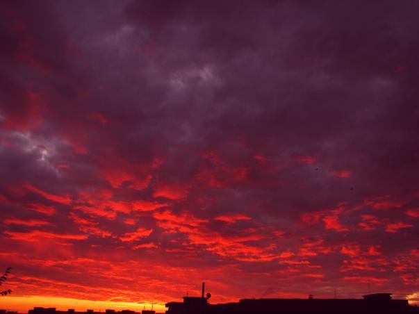 """""Fire in the Sky (3)"