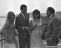 Ana Szeles, Victor Rebenciuc, Gina Patrichi si Liviu Ciulei, in 1965