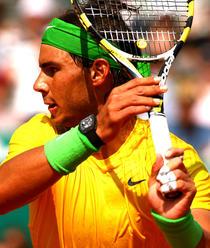 Rafael Nadal cu Richard Mille RM027 la mana