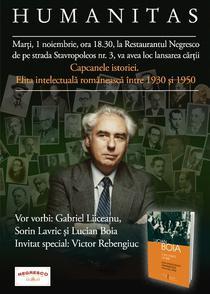 afis lansare Lucian Boia