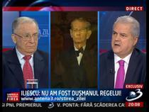 Ion Iliescu si Adrian Nastase, la Antena 3