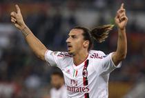 "Zlatan Ibrahimovic, ""dubla"" pentru Milan"