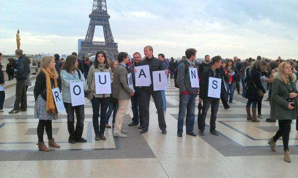 manifestaţie Paris