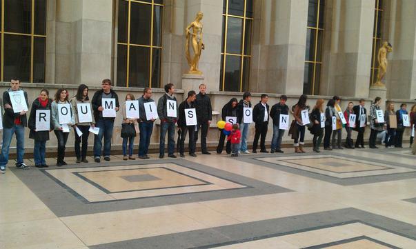 manifestaţie Paris (2)