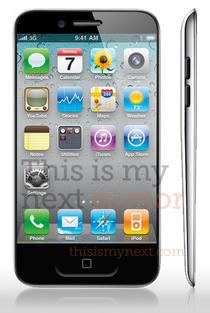 Design posibil pentru iPhone 5