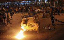 Protest violent la Cairo