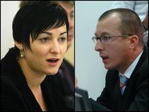 Natalia Roman (UNJR) si Alexandru Serban (CSM)