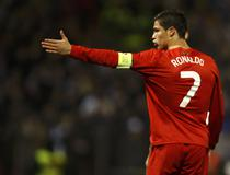 Ronaldo, fara gol contra Bosniei