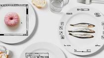 iPlate, setul de farfurii pictat cu instrumente din lumea digitala