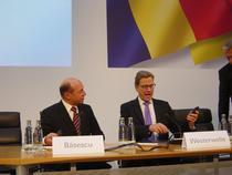 Traian Basescu si Guido Westerwelle