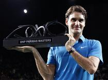 Roger Federer, invingator la Paris-Bercy