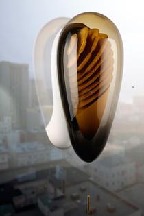 Urban Beehive, stupul care se monteaza pe fereastra pentru a permite recoltarea mierii