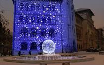 Propunere de iluminat in Piata Universitatii - Fintina de la Facultatea de Arhitectura