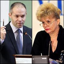 Daniel Funeriu si Corina Dumitrescu