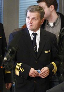 Pilotul polonez Tadeusz Wrona