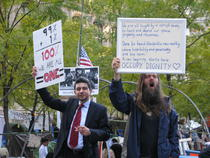 Joc de scena la Occupy Wall Street