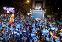 Liderul PP, Mariano Rajoy, le multumeste sustinatorilor sai