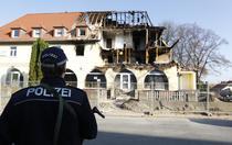 Casa explodata in Zwickau