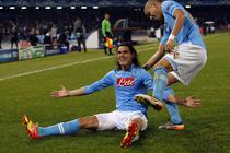 Edinson Cavani, un nou gol pentru Napoli