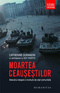 Moartea Ceausestilor, coperta