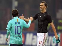 Messi si Ibrahimovic, dupa Milan - Barcelona 2-3