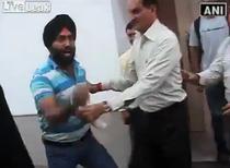 Atacatorul a fost arestat