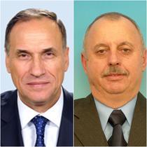 Trifon Belacurencu (PSD) si Vasile Pruteanu (PDL)