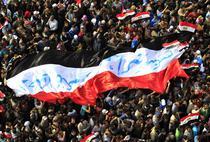 A opta zi de proteste in Piata Tahrir