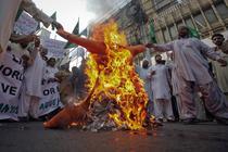 Proteste in Pakistan
