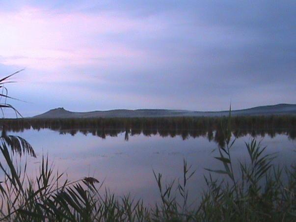 Apus de soare in Delta Dunarii (2)