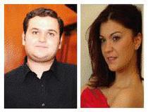 Violonistul Ilian Gârneţ si pianista Claudia Bara