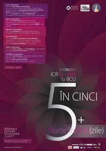 5 (arte) în cinci (zile) – ICR la BCU