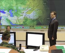 Dmitri Medvedev la inaugurarea statiei radar