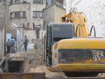 Demolarea imobilului Selari 14